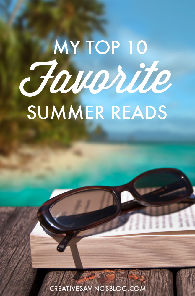 Summer is finally here, and it's the perfect time to squeeze a few more books into your schedule! These top 10 favorite Summer reads make for an afternoon of fun and relaxation, whether you're lounging by the pool, sunning on the beach, or cozied up in a big chair right at home!