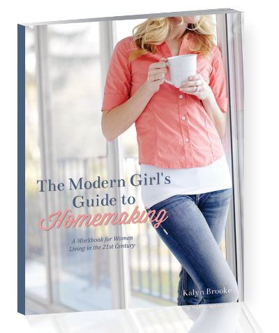 Every household is different, which means every homemaking style can be different too. The Modern Girl's Guide to Homemaking is all about household management YOUR way, and is now available for individual purchase at the super low price of $4.99!