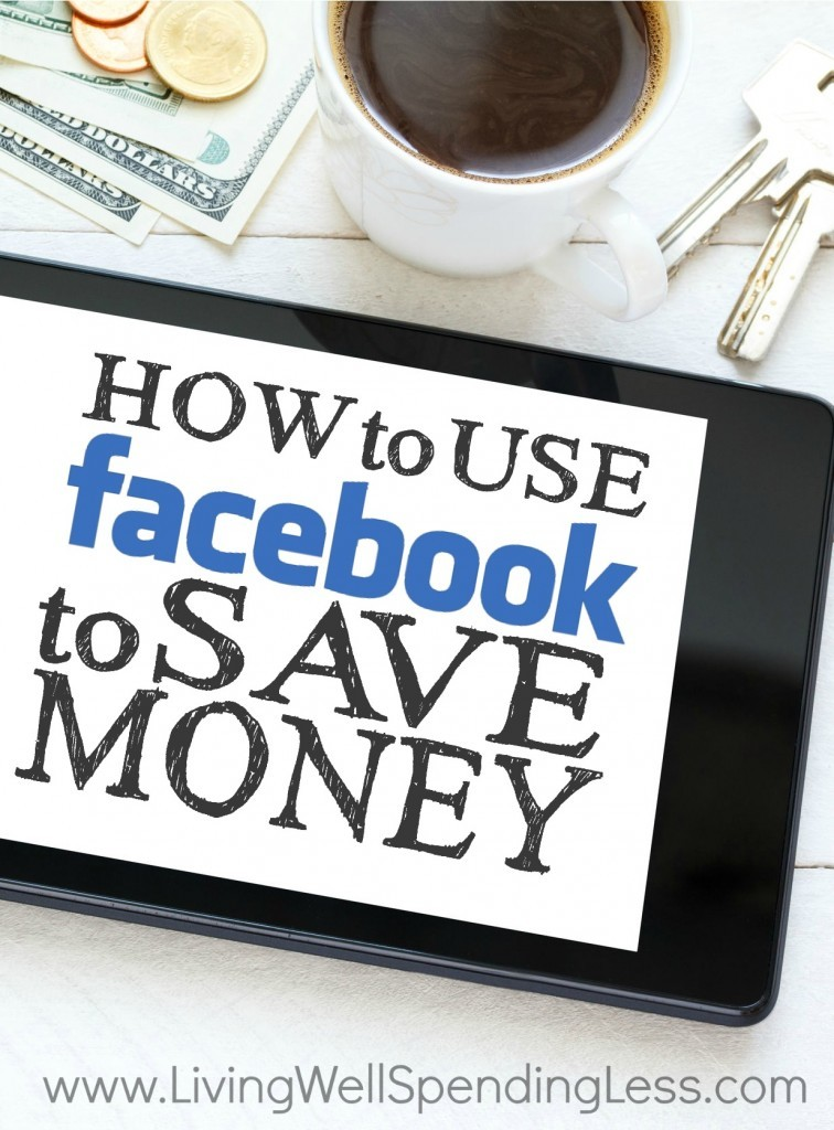 Facebook can be super distracting, but what if you used this monster social media network to your advantage? I'm sharing all my tips and tricks on how I save money on Facebook, including some ideas you might not have heard before!