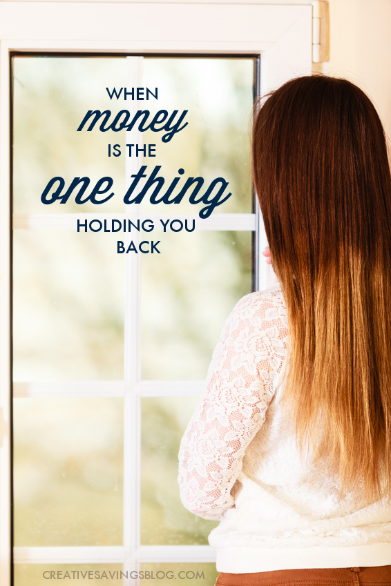 When money is tight, it's hard to look past the present moment and find the courage and hope you need to move forward. If you're the least bit frustrated, anxious, or feeling defenseless against a financial situation you can't control, this post shares three valuable lessons on why you shouldn't ever give up!