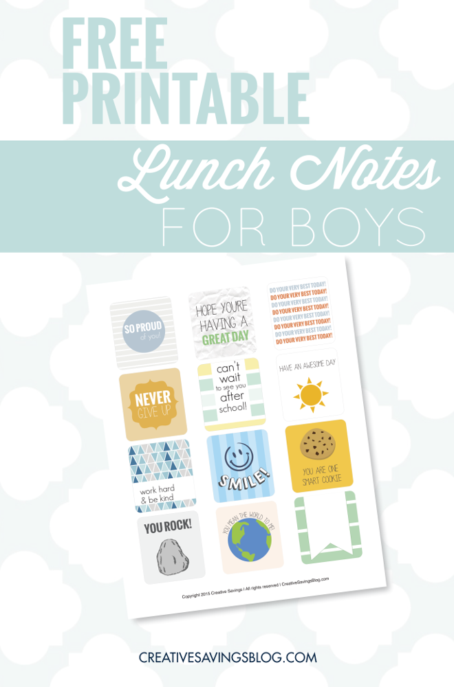School is just around the corner, there's no better time to up your game and add something special to your kiddos lunches. It will instantly brighten their day with love and encouragement!