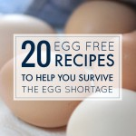 20 Egg Free Recipes to Help You Survive the Egg Shortage