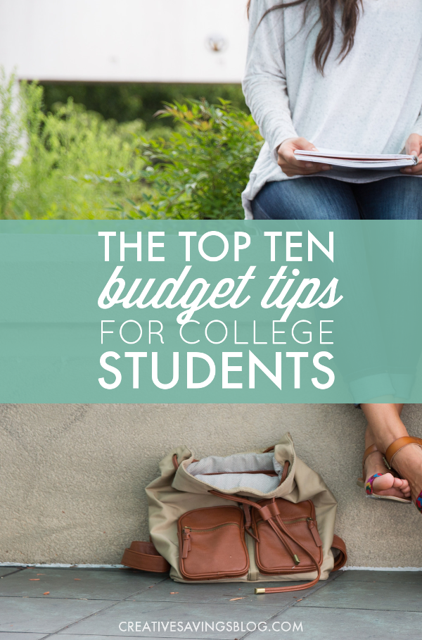 Whether you're headed off to college, in the middle of a semester, or have a college-age son or daughter who's ready to take the leap, these budget tips are your ticket to make smart choices during the school year. You can have fun, enjoy your independence, and still keep your finances in check!