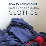 How to Remove Odor from Funky Smelling Clothes