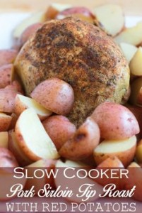 Sirloin Tip Roast in the Slow Cooker