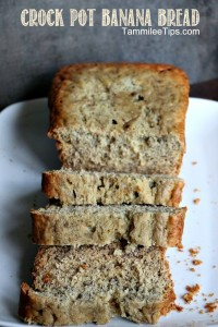 Crockpot Banana Bread