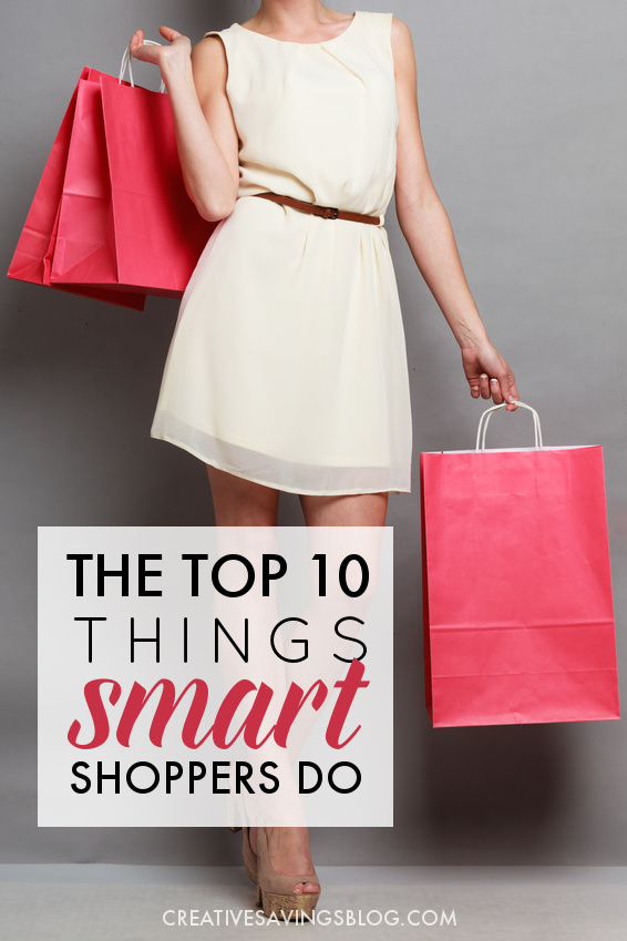 What makes expert shoppers and bargain hunters so different from the rest of us? It's the WAY they do it! Learn how to shop smarter with these ten expert strategies, and never feel pressured to overspend again.