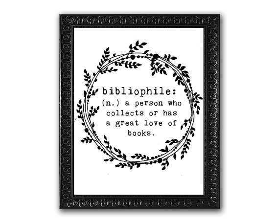 Bibliophile Print | Creative Savings