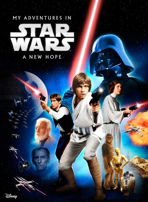Customized Star Wars Book