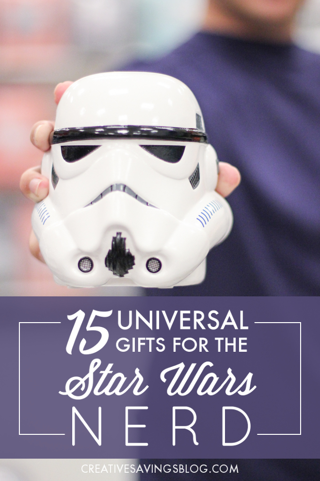 I can't think of a better Christmas gift than anything and everything Star Wars themed, especially in light of the newest Star Wars movie! This collection of hand-picked Star Wars gifts are the perfect option for both kids and adults, and will get everyone in the family to awaken their inner Jedi. They all come in under $25.00 too!