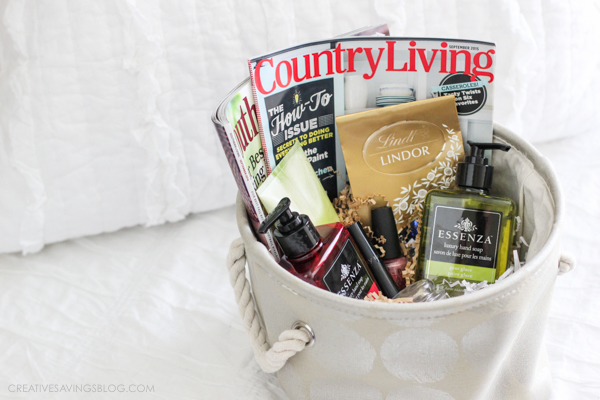 Pamper Basket | Creative Savings
