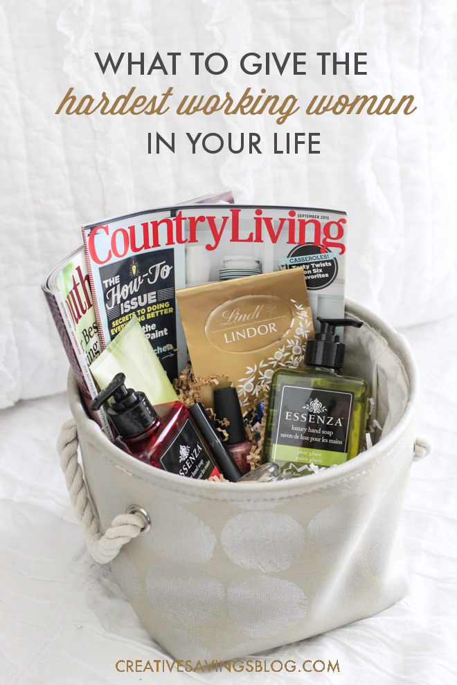 """Spa gift baskets can easily be customized based on the woman you want to spoil, and the size of your budget. Follow this simple """"formula"""" to create a one-of-kind pamper basket from scratch, and find out which items are a MUST to include. Great as a Mothers Day gift idea, last minute Christmas gift, or just because!"""
