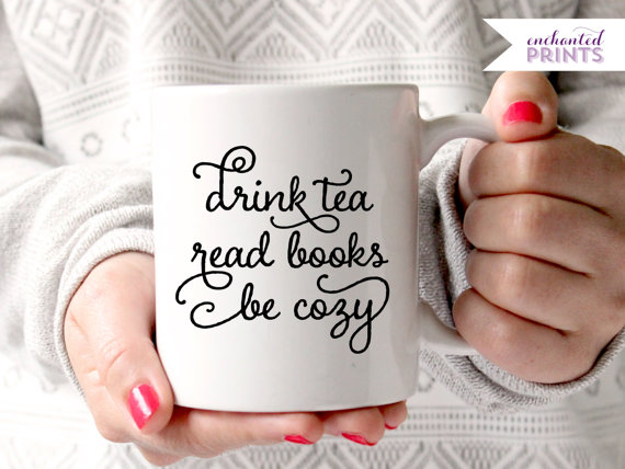 Read Books Mug from Enchanted Prints