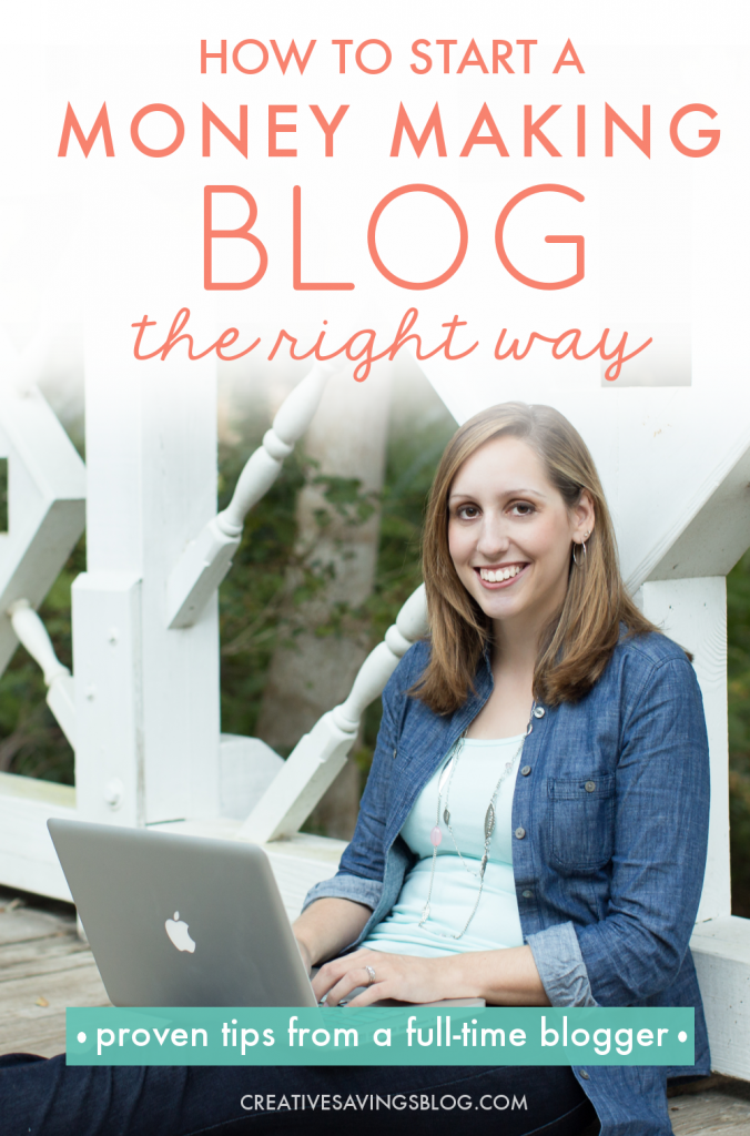 "I've read hundreds of ""How to Start a Blog"" posts, but this one is by far the BEST one out there! She offers real tips to get started, {not just technical know-how}, and even includes how to create your own blog mission statement—something I never thought of before! I'm definitely saving up for the course she mentions at the end. It's exactly what I need to take my blog to the next level! #howtoblog #howtobeablogger #fulltimeblogger #protips #moneymakingblog #workfromhome"