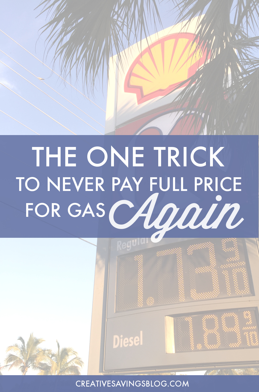 Never pay full price for gas again with this incredibly simple and convenient program. It takes just 5 minutes to set up, and rewards add up FAST. You'll kick yourself for not trying this sooner!