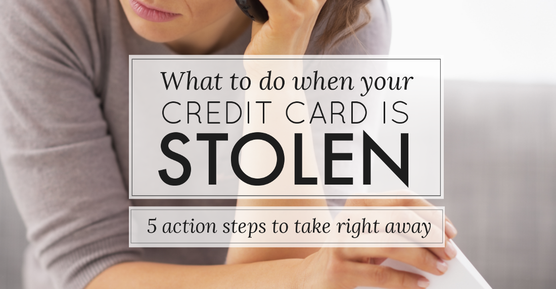how to find out if someone has hacked credit card