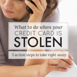 What to Do When Your Credit Card is Stolen