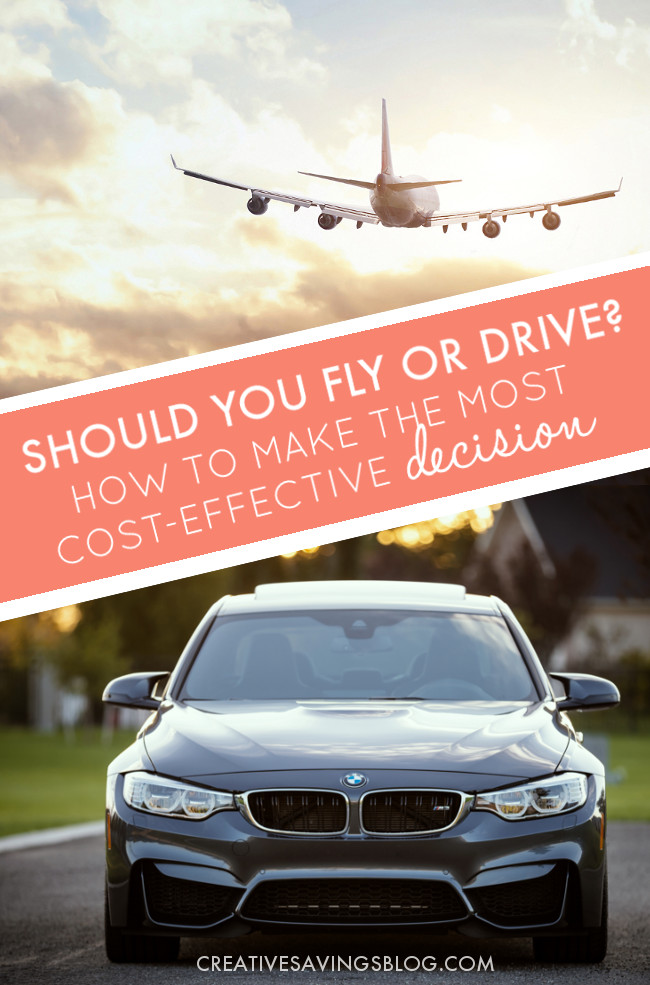 If you're thinking of traveling cross-country for a Summer road trip, or to visit friends and family for the Holidays, you might be wondering if there's a scientific formula to help you decide whether to fly or drive. This post helps you consider ALL the costs, and even provides a printable worksheet so you can compare real numbers!