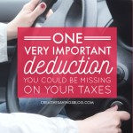 One Very Important Deduction You Could be Missing on Your Taxes
