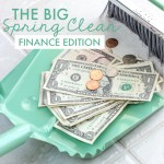 The Big Spring Clean {Finance Edition}