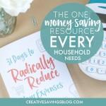 The One Money Saving Resource Every Household Needs