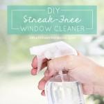 DIY Streak-Free Window Cleaner