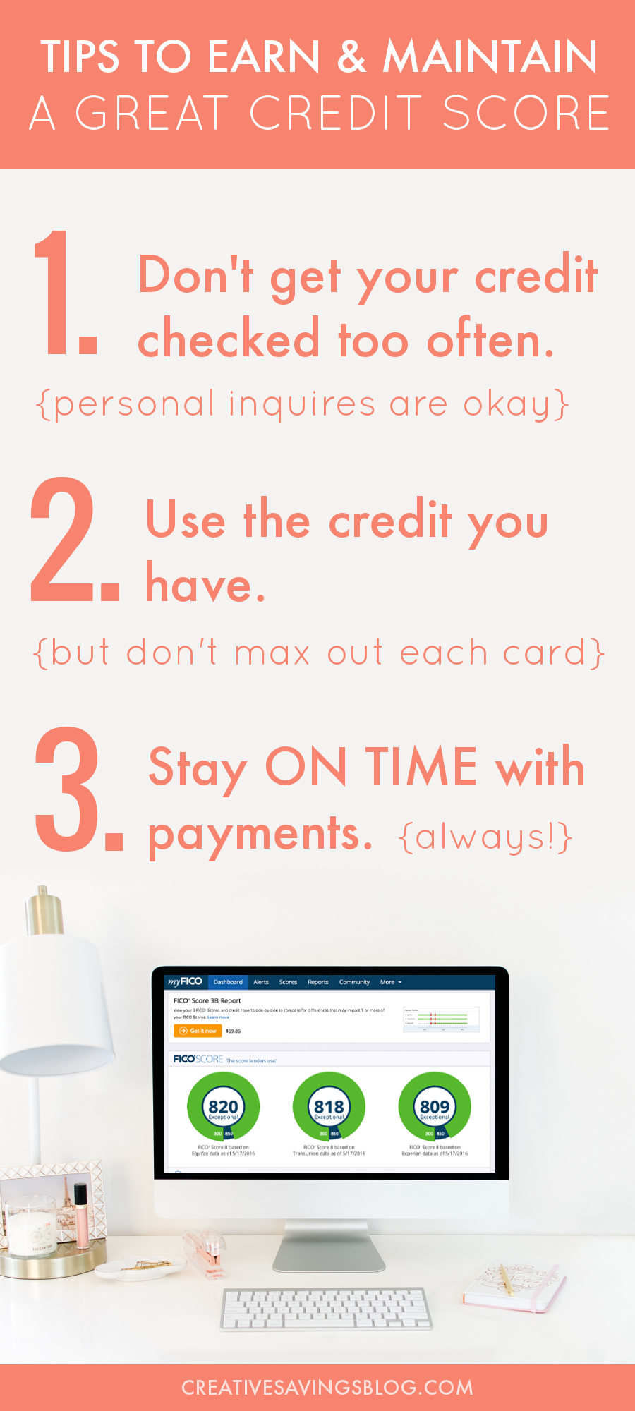 Confused about credit scores? These tried-and-true tips help you earn and maintain a great credit score for years to come!