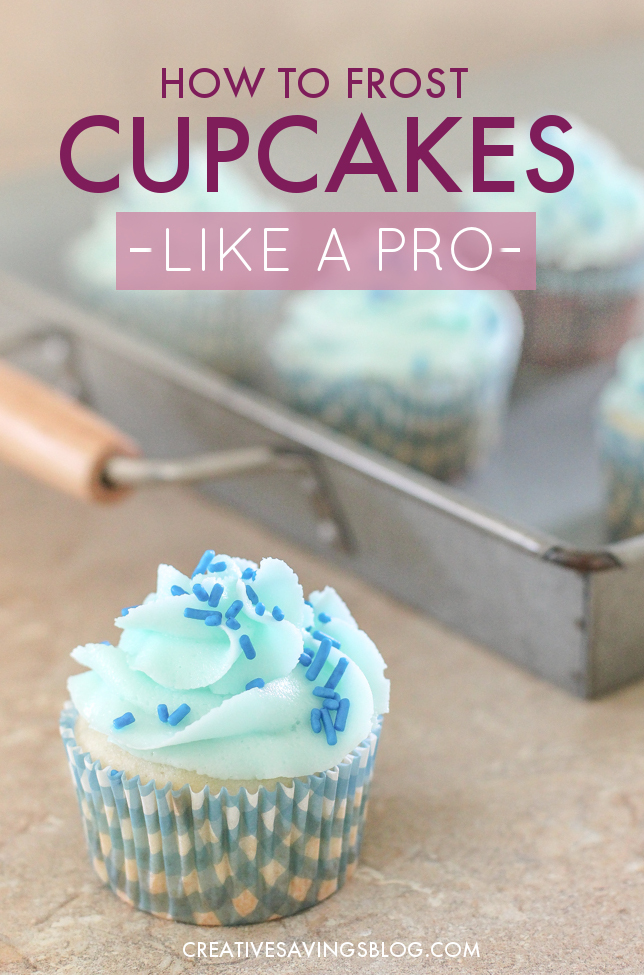 These cupcakes look SO delicious! I can't believe how simple it is to create that pretty swirl. I'm totally doing this next time I make cupcakes for a birthday party or baby shower!