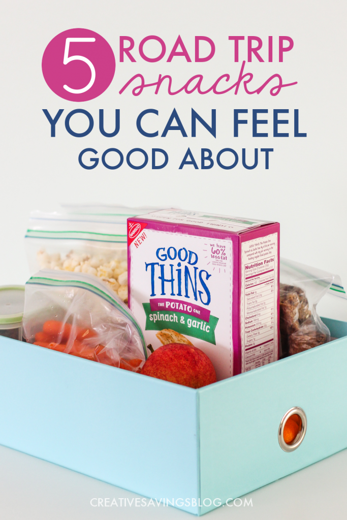 Have a vacation planned this Summer? These road trip snacks are some of our go-to favorites for long car rides, and keep hunger satisfied without feeling too awfully heavy. Approved by both kids and adults!