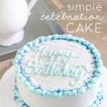 DIY Simple Celebration Cake
