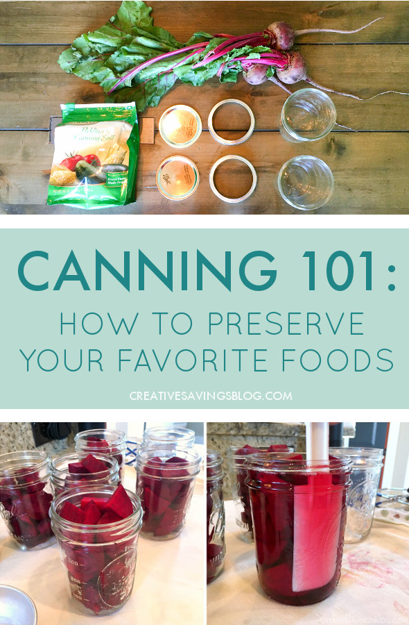 I really didn't think canning could be this easy! Seriously - she outlined how to do it in 4 simple steps!!! Now I'm going to start checking out some more canning recipes! #canning #howtocan #preserving #foodpreservation #kitchenhacks