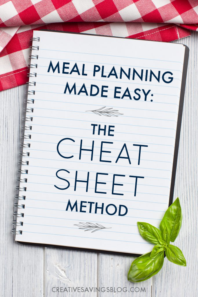 For some reason, I keep avoiding the whole meal planning thing—mostly because I hate taking time to look through all those recipes. But this method makes SO much sense! In fact, since using the printables she includes, I'm way more organized in the kitchen than ever before. Genius!! #mealplanning #planningmeals #kitchenhacks #easyweeknights