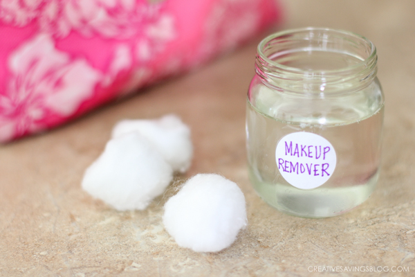 Tired of overpriced makeup removers? This recipe uses just 3 all-natural ingredients and is super nourishing for your skin. It's a homemade recipe that actually WORKS!