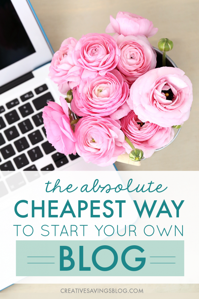 Wish you could earn a flexible income at home? It's easier than you think! Blogging is one of the cheapest businesses you can start, and this is the only platform I recommend for beginning bloggers. A year from now you will wish you had started today! #blogging #howtostartblogging #howtomakemoneyblogging #bloghosting #startblogging #workfromhome
