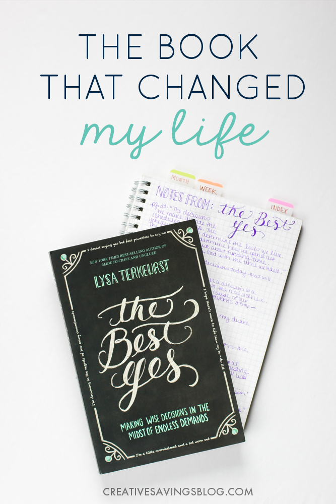 I just bought this book because I say YES to absolutely everything. It's almost impossible for me to say no! I clearly need help. This post was super encouraging, and I love how she's so careful about adding things to her schedule. I can only imagine this book will do exactly what she says it will—change my life!