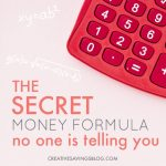 The Secret Money Formula No One is Telling You