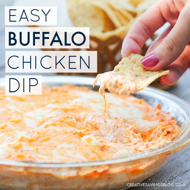 Simple Buffalo Chicken Dip