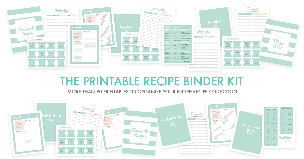 photograph regarding Free Printable Recipe Binder Kit identified as In general Recipe Small business: How towards Deliver Your Aspiration Recipe Binder
