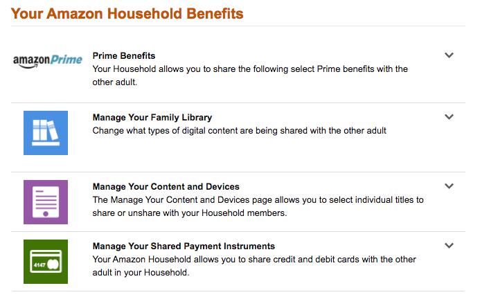 Amazon Households