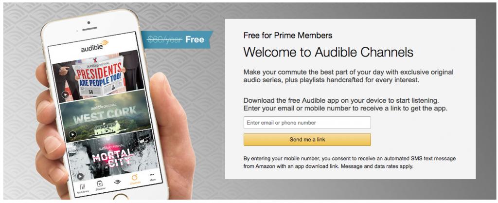 Audible | Amazon Prime