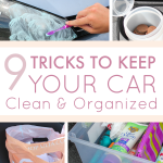 9 Tricks to Keep Your Car Clean and Organized