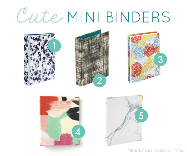 cute-mini-binders