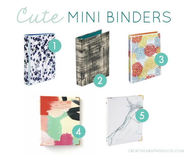 cute-mini-binders