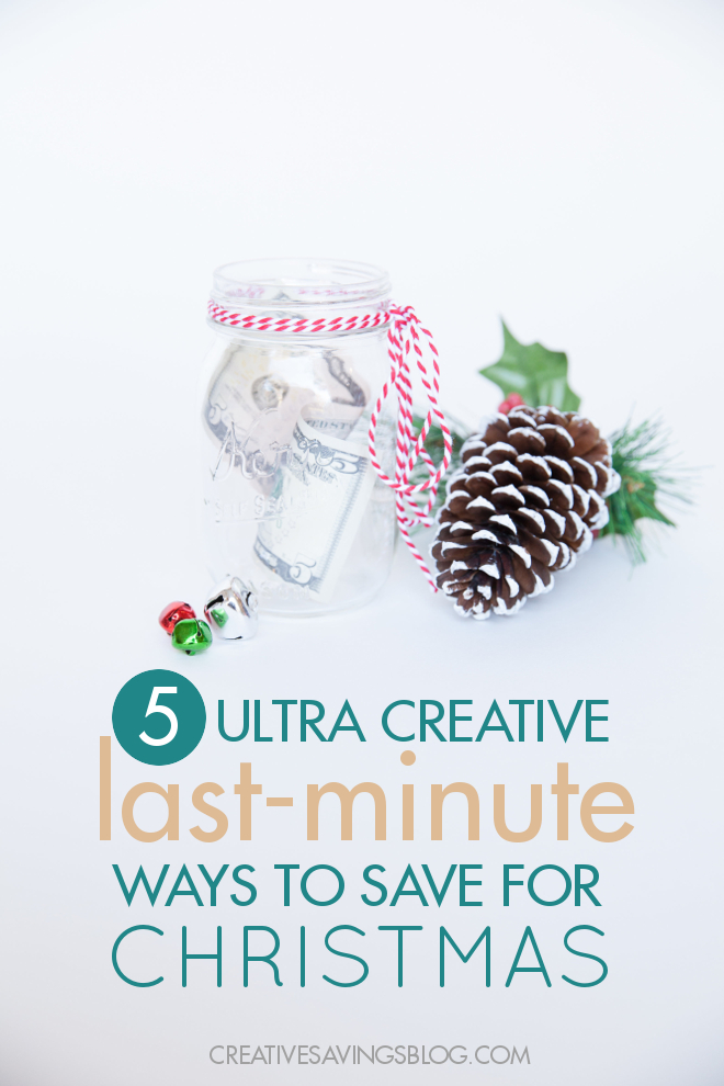 These last minute Christmas savings ideas are guaranteed to give any budget a big boost. Includes a fun Christmas savings plan and a pretty Christmas savings jar!