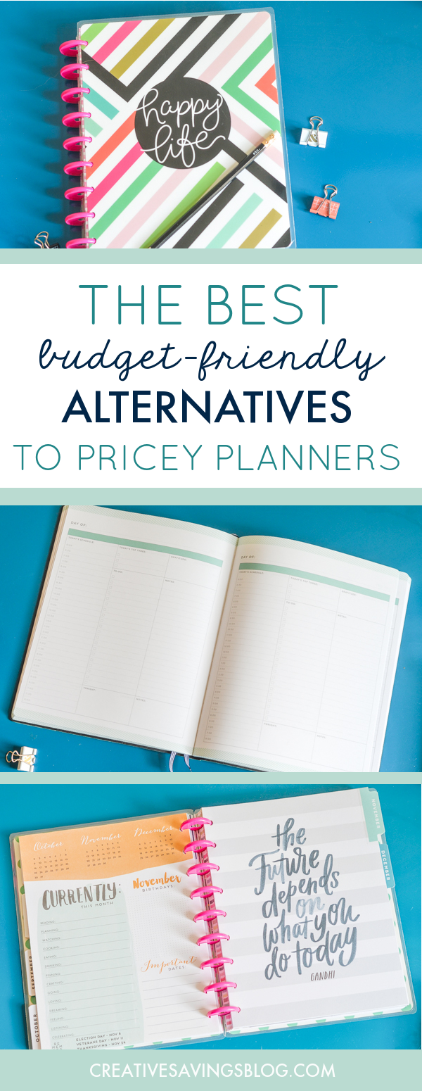 affordably cheap planners that pack a productivity punch