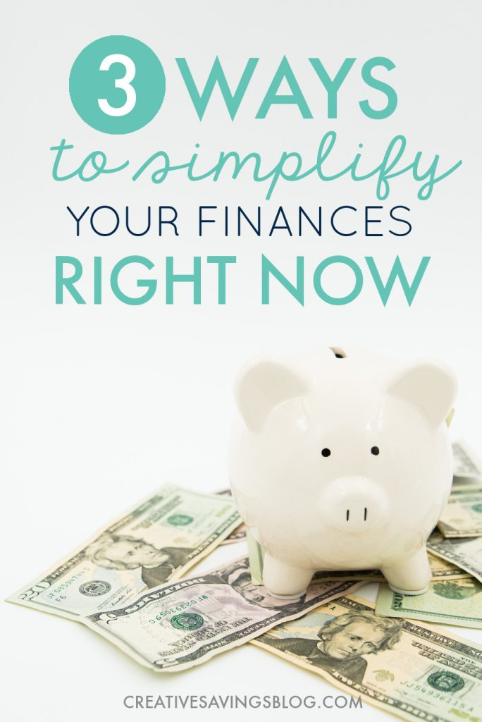 Does managing your money, bank accounts, investments, or debt payments ever make you feel overwhelmed? It doesn't have to! These simple finance tips inspire you to pare down to the absolute basics. Let's stop making money so darn complicated! #simplifiedfinances #organizedfinances #moneymanagement