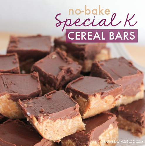 No-Bake Special K Bars