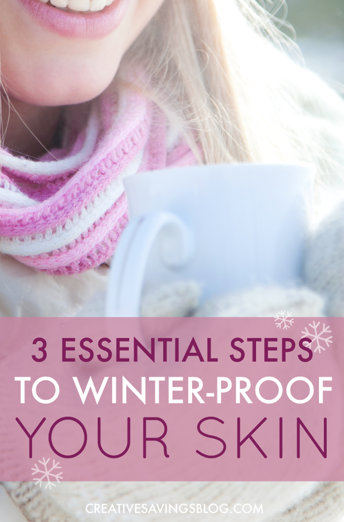 Every Winter my skin is always super dry and flaky! These tips are exactly what I need to take care of my skin during the coldest months of the year. And I'm guessing if my skin feels better, I'm going to feel a lot better too!