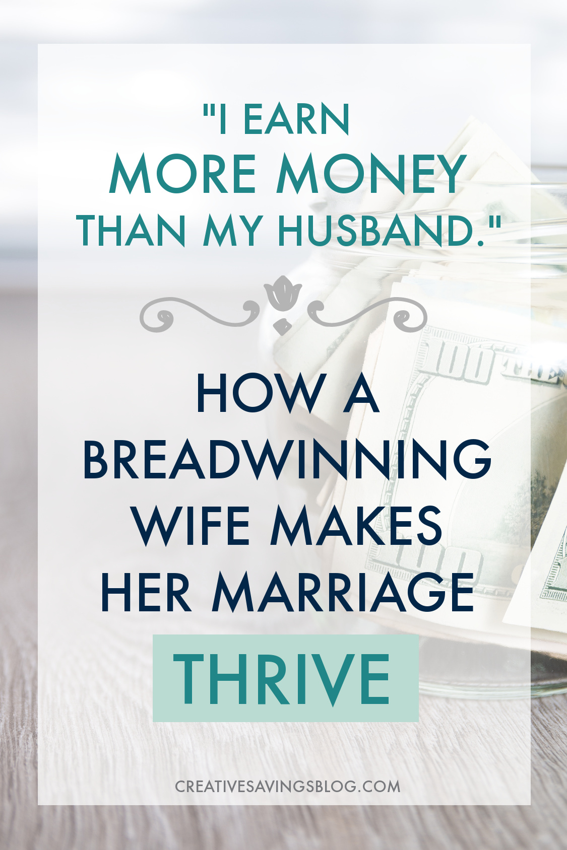 Wow! It's so awesome to see this girl win at business and thrive in marriage! It seems like everyone gives women the choice of either making money in the business world or being happy at home. This girl breaks down how she manages both. #breadwinningwife #marriagetips #marriageandmoney #unequalincome