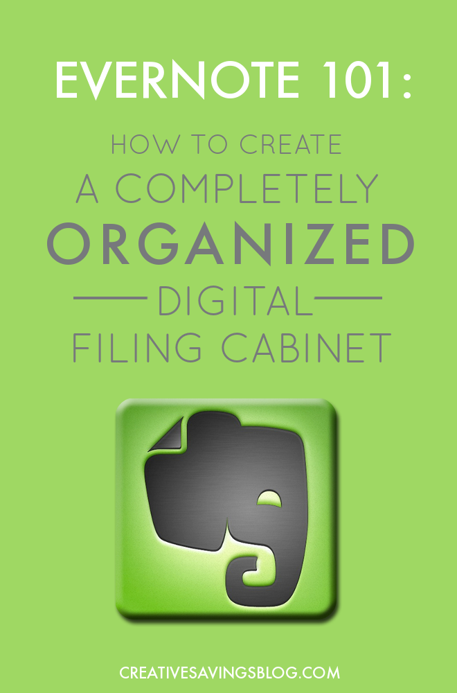 Where has Evernote been my whole life? Actually, I knew it was there but I always thought it was too complicated to learn! This post helped me understand that #Evernote is super easy and one of the best #organizationaltools out there for those who want to go paperless...like me! #efiling #electronicfilingsystem